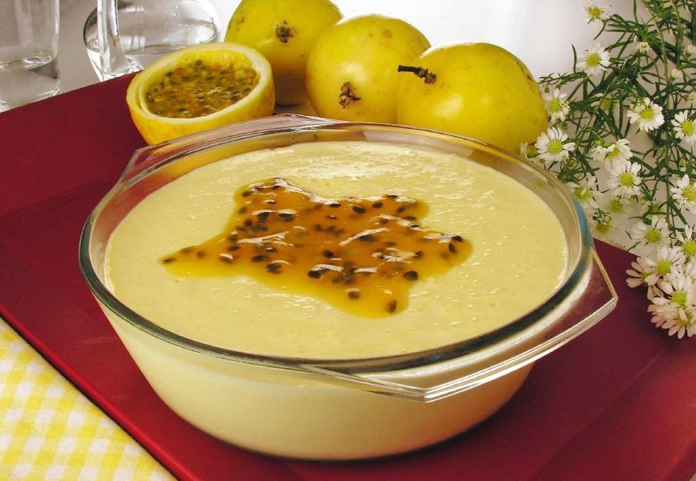Mousse de maracujá pratico com 3 ingredientes