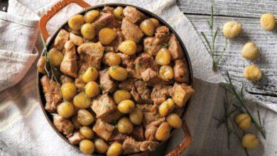 Photo of Receita de carne de porco com castanhas