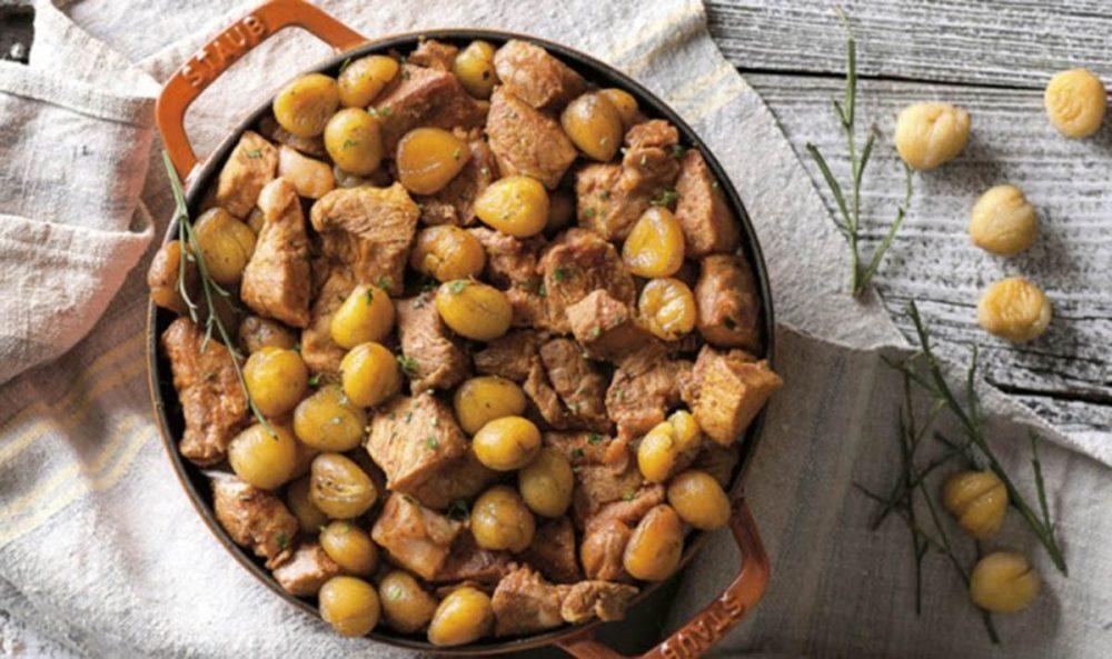 Receita de carne de porco com castanhas - Receita de carne de porco com castanhas