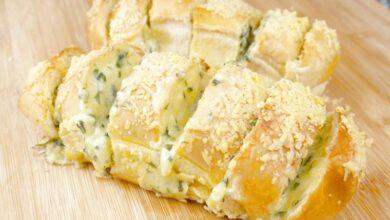 Photo of Receita de pão de alho caseiro simples