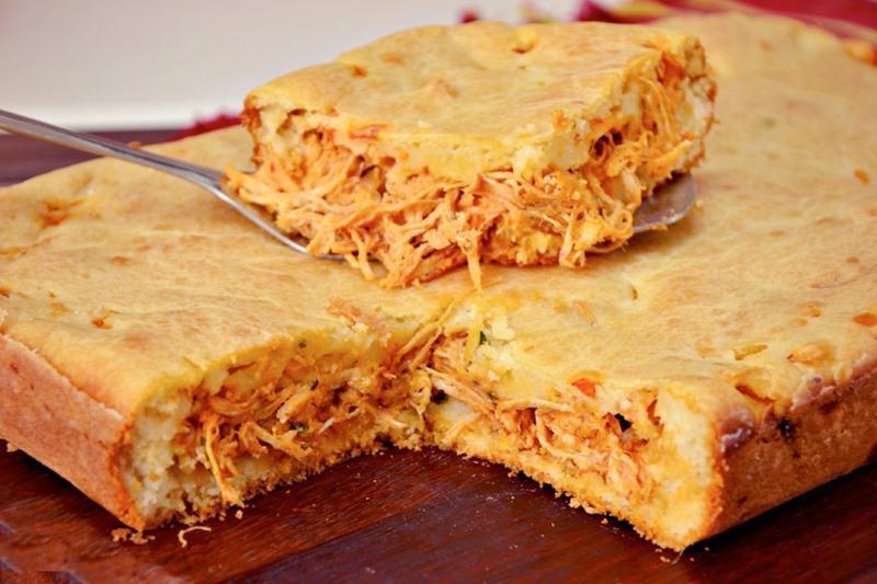 Receita de torta de frango de liquidificador - Receita de torta de frango de liquidificador