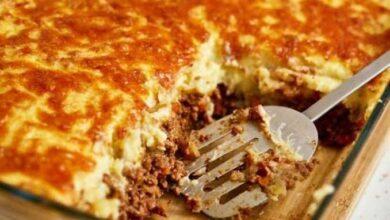 Photo of Torta de Batata com Carne Moída (Receita maravilhosa)