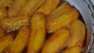 Photo of Receita de Bananas em Calda