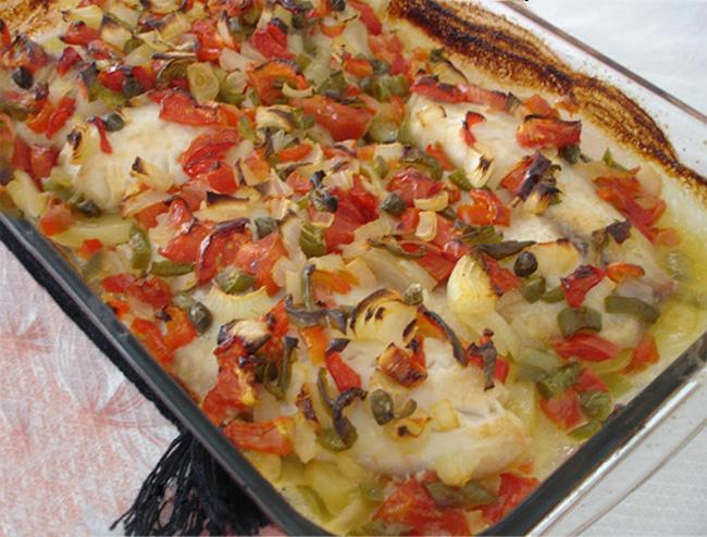 Receita de filé de peixe ao forno - Receita de filé de peixe ao forno