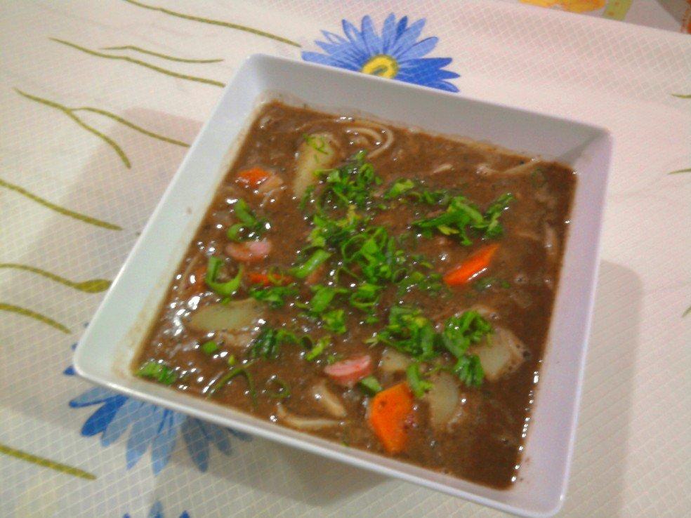 Receita de Sopa de Feijão Fácil