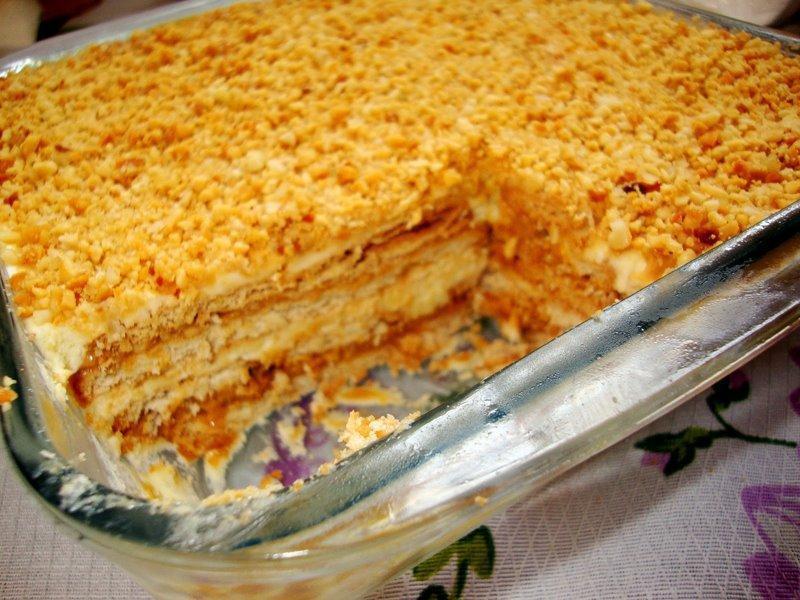Torta doce paulista