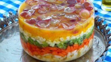 Photo of Receita de Salada de Frutas em Camadas