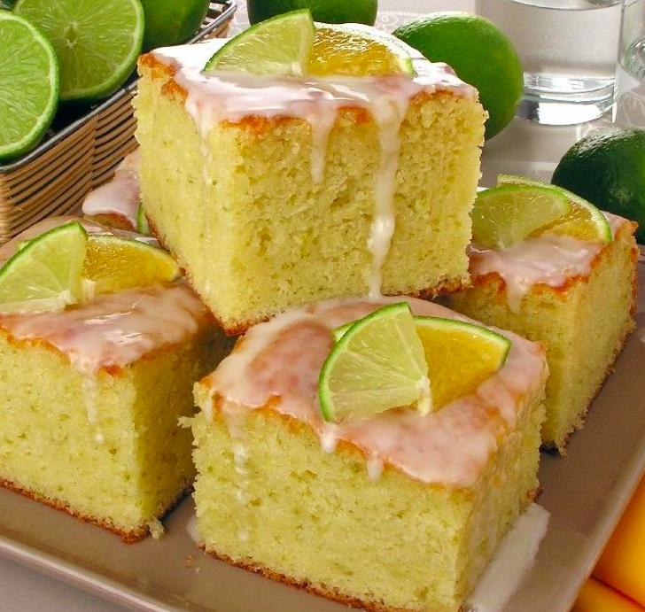 Receita bolo de laranja e limão