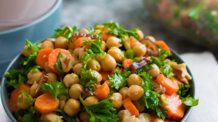 Salada de Grão de Bico 1